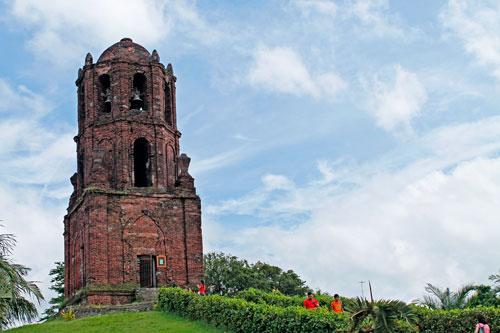 The Bell Tower of Santuario del Nuestra Señora de Caridad