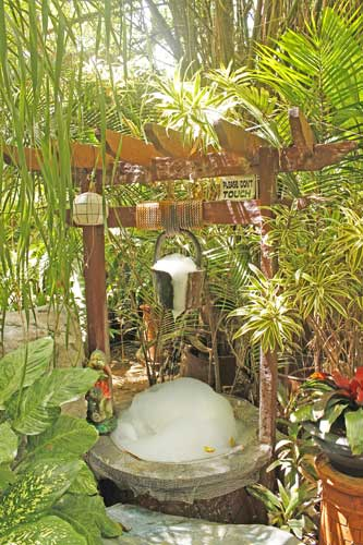 Bubble Well at Hidden Garden Vigan