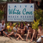 groupie at white cove laiya