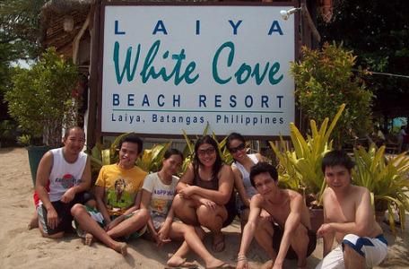 groupie at white cove laiya