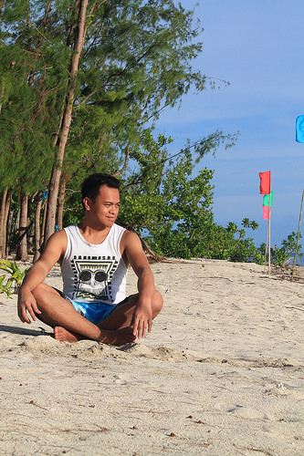 ian limpangog at dampalitan beach