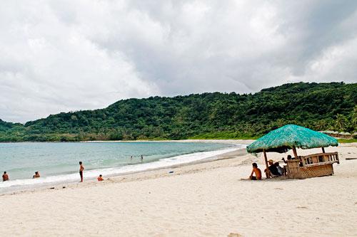 The placid Maira-ira Beach