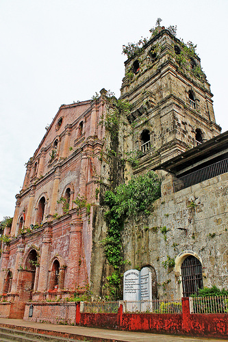 Facede of Majayjay Church or Saint Gregory the Great Parish