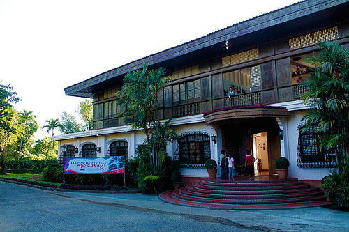 The facade of Malacañang of the North