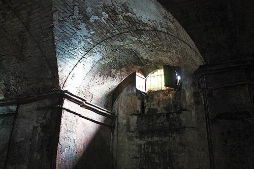 nagcarlan underground cemetery window