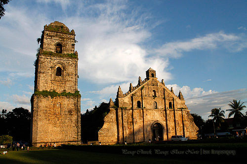 The grandeur of San Agustin Parish (Paoay Church)