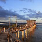 The boardwalk in Siargao's Cloud 9