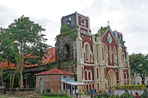The St. Agustin Parish in Barangay Bantay