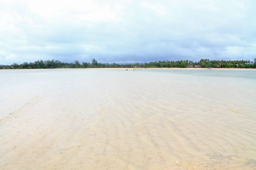 A shore so wide at Cagbalete