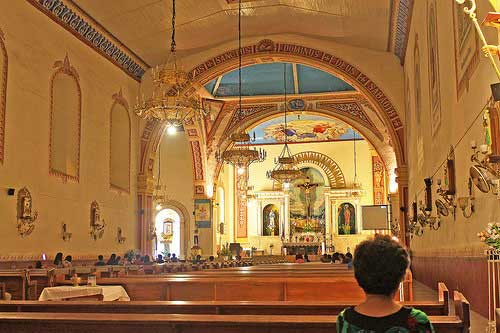 Lucban Church Altar