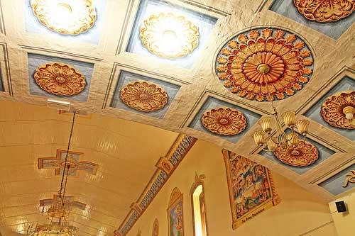 Lucban Church Ceiling
