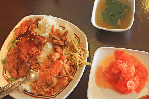 Rico's Fastfood & Restaurant Costumer Meal