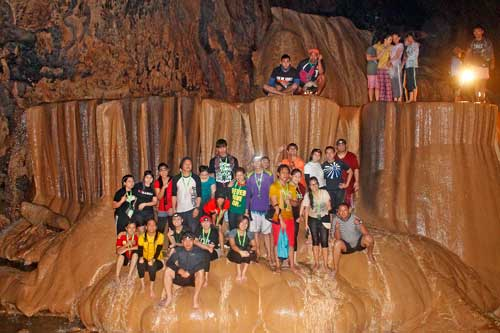 Groupie at Sumaguing Cave
