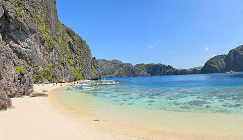 Talisay Beach, Tapuitan Island, El Nido, Palawan