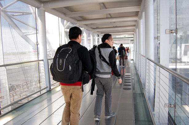 Suvarnabhumi Airport arrival
