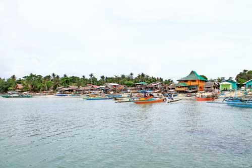 Cagbalete coastal residential area