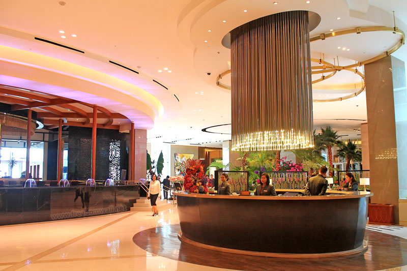 Sky Tower's Concierge at Solaire Resorts and Casino