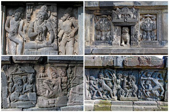 Candi Prambanan Gallery (wall carvings)