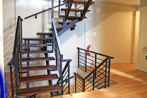 Packer Lodge Stairway