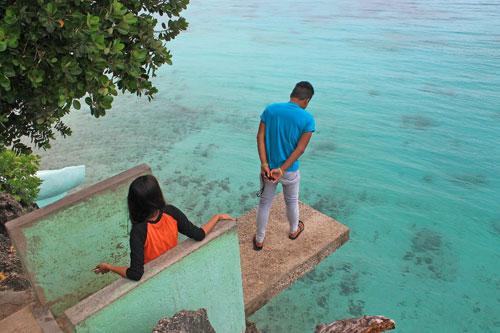 Salagdoong's cliff diving platform