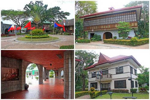 Heritage houses of Filipino heroes at Nayong Pilipino