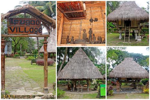 An Ifugao Village Inside Nayong Pilipino