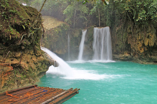 The third Falls of Kawasan