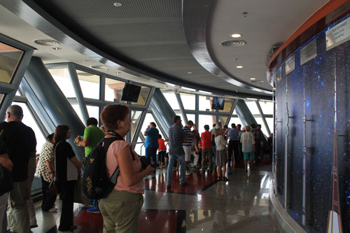The observation deck of Menara KL (KL Tower)