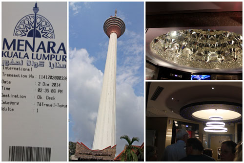 KL Tower, ticket, and elevator lobby