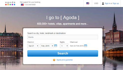Agoda: Cheapest Hotel Accommodation