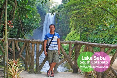 At Lake Sebu's Hikong Alo a.k.a. Falls no. 1
