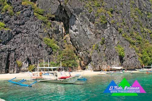 Talisay Beach, Tapiutan Island, El Nido, Palawan