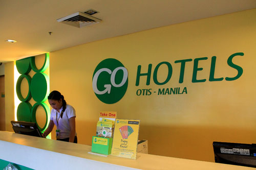 Go Hotels Reception