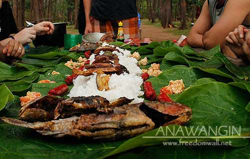 boodle fight anawangin