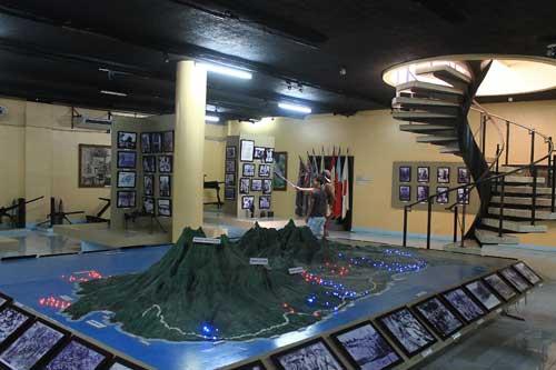 dambana ng kagitingan museum interior