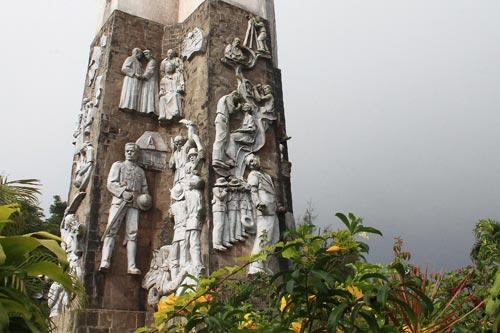Memorial Cross reliefs