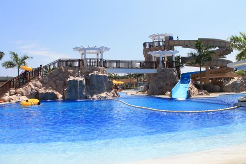 Aquaria Pool Slide