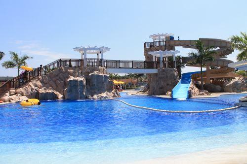 Aquaria Pool Slide