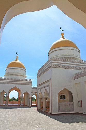 Cotabato Grand Mosque domes