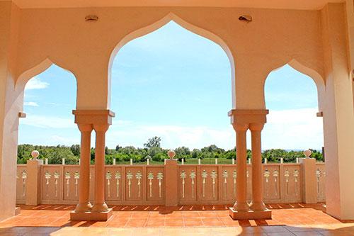 Sultan Haji Hassanal Bolkiah Masjid, also known as the Grand Mosque of Cotabato