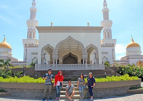 Cotabato grand mosque facade