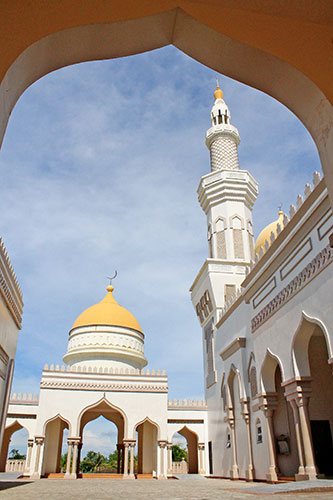 Cotabato Grand Mosque towers