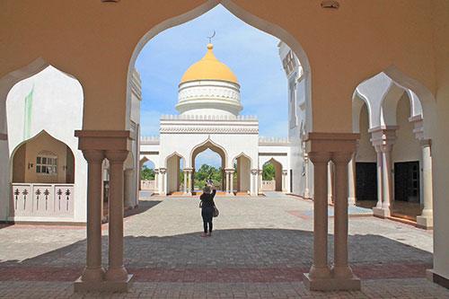 Cotabato grand mosque dome
