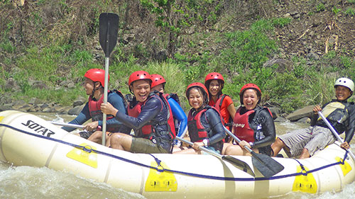 surviving a rapids at Cagayan de Oro