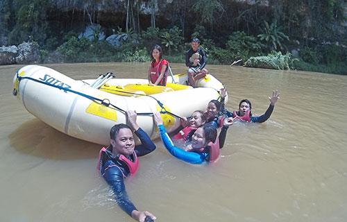 Cagayan de Oro River calm area