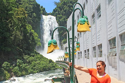 Maria Cristina Falls Power Station with Cookie Santelices