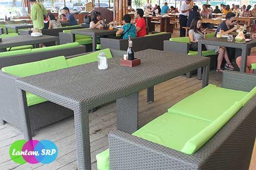 Lantaw's signature furniture