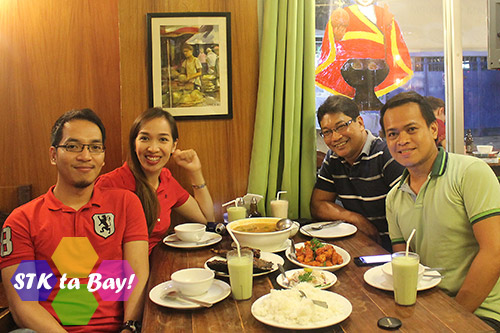 A photo before the war at STK ta Bay with Albert Mico Pajarillo, Jessica Ann Hammond, and Ian Limpangog