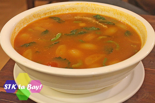 STK ta Bay!'s Thai Soup or Tomyam