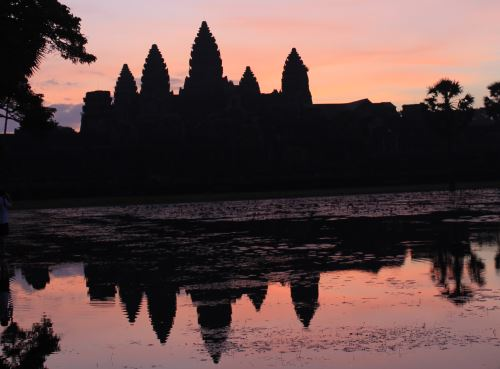 The Angkor Wat in Siem Reap